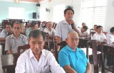 Đại biểu HĐND tỉnh và TX.Thuận An tiếp xúc cử tri phường Thuận Giao, Lái Thiêu