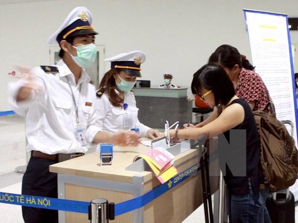 Hành khách từ Hàn Quốc nhập cảnh đến Việt Nam