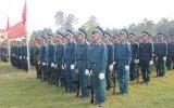 Sư đoàn 7, Quân đoàn 4: Tổ chức lễ tuyên thệ cho chiến sĩ mới