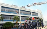 Công tác phòng chống cháy nổ ở các kho bãi, khu công nghiệp: Cần tăng cường kiểm tra, giám sát