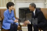 Tổng thống Mỹ, Hàn Quốc họp tại Nhà Trắng bàn về hạt nhân Triều Tiên