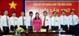 Đại hội Đảng bộ Văn phòng UBND tỉnh lần thứ X, nhiệm kỳ 2015-2020