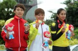 Bắn cung, xe đạp, taekwondo đoạt ba HCV