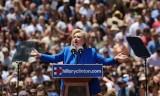Bà Hillary Clinton có bài diễn văn tranh cử tổng thống đầu tiên