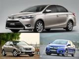 Top 3 mẫu sedan giá 600 triệu