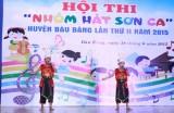 """Huyện Bàu Bàng: 12 nhóm tham gia Hội thi """"Nhóm hát Sơn ca"""""""