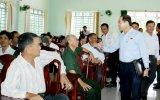 Đoàn đại biểu Quốc hội tỉnh tiếp xúc cử tri ở huyện Bàu Bàng, Dầu Tiếng và TX.Tân Uyên