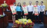 Lãnh đạo tỉnh gặp gỡ top 3 cuộc thi thủ lĩnh sinh viên