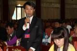 Thảo luận tại tổ: Các đại biểu tập trung đóng góp ý kiến cho các dự thảo văn kiện
