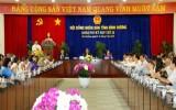 Khai mạc kỳ họp lần thứ 16, HĐND tỉnh khóa VIII
