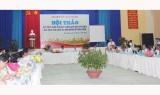 """Hội thảo """"giải pháp nâng cao chất lượng giáo dục toàn diện giai đoạn 2015-2020 và định hướng đến năm 2030"""""""