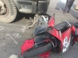 Hai vợ chồng gặp nạn trên đường đi chợ về