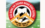 Lịch thi đấu Giải bóng đá doanh nhân mở rộng - Báo Bình Dương lần thứ III, cúp Tôn Đại Thiên Lộc