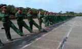 Sư đoàn 9: Luyện tập diễu duyệt cho ngày truyền thống