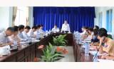 Đoàn công tác lãnh đạo tỉnh khảo sát công tác phòng chống thiên tai dọc sông Đồng Nai