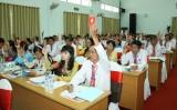Phiên trù bị Đại hội đại biểu Đảng bộ huyện Bắc Tân Uyên lần thứ XI, nhiệm kỳ 2015-2020