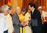 Chủ tịch nước gặp mặt 100 chiến sỹ cách mạng bị địch bắt tù đầy