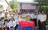 Trường Đại học YoungSan Hàn Quốc và trường Đại học Bình Dương bàn giao hai công trình từ thiện