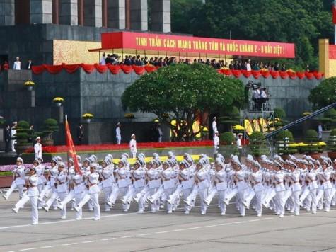 Chủ tịch nước đọc diễn văn tại Lễ míttinh trọng thể kỷ niệm Quốc khánh