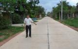 Hiến đất làm đường giao thông nông thôn: Thành công của sự đồng thuận