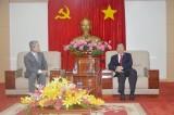 Chủ tịch UBND tỉnh tiếp và làm việc với lãnh đạo Công ty Sun Jin Foma (Hàn Quốc)