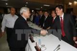 Tổng Bí thư gặp gỡ các doanh nhân tiêu biểu Thành phố Hồ Chí Minh