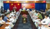 Họp báo thông tin về Đại hội đại biểu Đảng bộ tỉnh lần thứ X, nhiệm kỳ 2015-2020