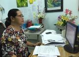 Phạm Thị Tiền: Say mê với công việc