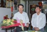 Ông Huỳnh Văn Nhị, Chủ tịch Ủy ban MTTQ Việt Nam tỉnh: Xây dựng đời sống văn hóa gắn với nông thôn mới, đô thị văn minh