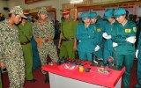 """Khai mạc trưng bày, giới thiệu lịch sử """"70 năm xây dựng chiến đấu và trưởng thành"""" của lực lượng vũ trang tỉnh Bình Dương"""