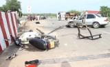 Dầu Tiếng: Tai nạn liên hoàn khiến 7 người trọng thương