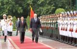 Việt Nam-Belarus ra tuyên bố chung phát triển quan hệ toàn diện