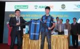 Lễ ra mắt cầu thủ Lương Xuân Trường (HAGL FC) trong màu áo CLB Incheon United