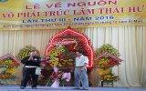 500 VĐV, võ sư, HLV tham gia lễ về nguồn của võ phái Trúc Lâm Thái Hư tại Bình Dương
