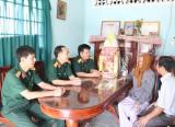 Lữ đoàn 434, Quân đoàn 4: Thăm, tặng quà cho mẹ Việt Nam Anh hùng và gia đình chính sách