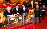 Tiến hành bỏ phiếu bầu cử Ban Chấp hành Trung ương khóa XII