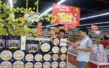 """Du ngoạn """"Phố tết"""" tại siêu thị Lotte Mart Bình Dương"""