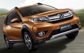 Honda BR-V 2016 giá khởi điểm từ 21.000 USD