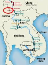 Trung Quốc tuyên bố xả nước xuống hạ lưu sông Mekong