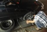 Hố ga bị hư, gây thủng bánh ô tô!