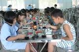 Trường Tiểu học Nguyễn Hiền: Bảo đảm an toàn - chất lượng bữa ăn bán trú
