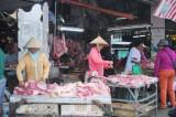 Thị trường thịt heo: Sức mua giảm, tiểu thương chật vật
