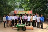Hội Doanh nhân trẻ tỉnh: Khởi công xây dựng nhà nhân ái tại Dầu Tiếng