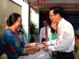 Các vị lãnh đạo Đảng, Nhà nước bỏ phiếu bầu cử tại TP.HCM