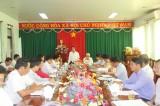 Ông Trần Thanh Liêm, Phó Chủ tịch UBND tỉnh, Phó BCĐ đổi mới và phát triển KTTT tỉnh: Huyện Dầu Tiếng cần củng cố, chấn chỉnh và phát triển các hợp tác xã