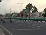 Dựng hàng rào trên dải phân cách nhằm kéo giảm tai nạn giao thông