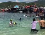 Ninh Thuận: Xác nhận 2 du khách chết đuối dưới biển trong vụ lật bè