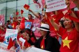 Người Việt tại Hàn Quốc phản đối hành xử của Trung Quốc ở Biển Đông