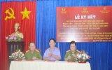 Công an tỉnh - Cảnh sát PC&CC - Viện Kiểm sát Nhân dân tỉnh: Ký kết quy chế phối hợp đều tra, thụ lý và giải quyết các vụ cháy