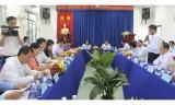 Đoàn khảo sát Trung ương làm việc tại KCN Nam Tân Uyên về công tác xây dựng Đảng